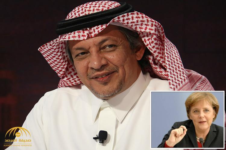 """نائب وزير الاقتصاد السعودي: المستشارة """"أنجيلا ميركل"""" قدوة لجميع النساء السعوديات!"""