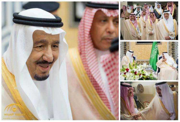 بالصور : خادم الحرمين الشريفين يصل جدة قادماً من الرياض