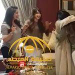 بالفيديو : لجين و أسيل عمران تفاجآن أختهما الصغيرة نعومة في عيد ميلادها