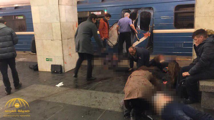 بالفيديو والصور:مقتل 10 على الأقل وإصابة 50 جراء  انفجار في مترو أنفاق  بروسيا