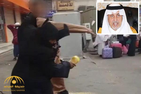 الأمير خالد الفيصل يوجه بسرعة القبض على شاب صفع فتاة بأحد أسواق مكة