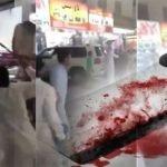 """شاب يضرب آخر بالساطور على رأسه في الرياض صارخاً : """" اعتدى على محارمي """""""