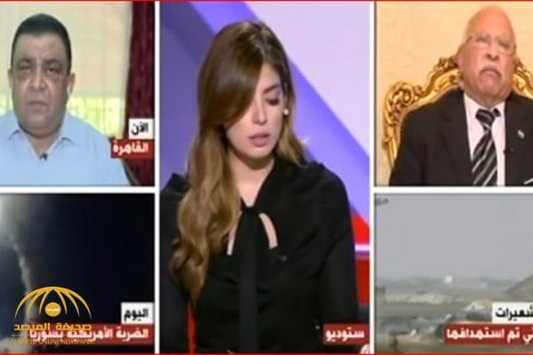 بالفيديو.. مشاجرة على الهواء بين خبير عسكري مصري ومعارض سوري