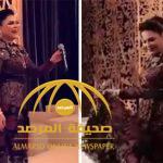 """بالفيديو : رقص وغناء أحلام في حفل زواج """"آل بقشان"""" بجدة"""
