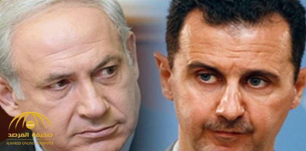 الكشف عن صفقة إسرائيلية مع نظام الأسد.. تعرف على تفاصيلها ؟