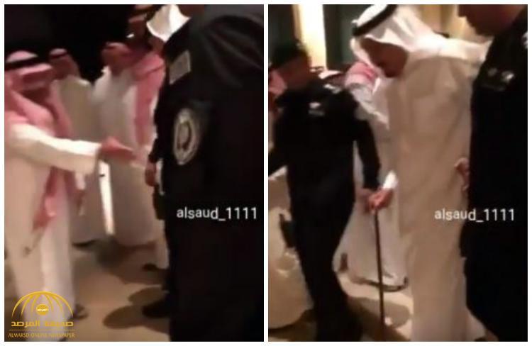 بالفيديو : خادم الحرمين الشريفين و ولي ولي العهد يقدمان واجب العزاء بمنزل الأمير سلطان بن ناصر