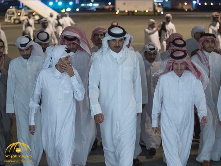 مختطفون قطريون على يد جماعة شيعية إرهابية في العراق يتحدثون للمرة الاولى بعد إطلاق سراحهم