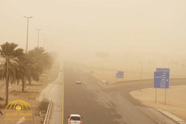 الأرصاد: استمرار الرياح المثيرة للأتربة والغبار على هذه المناطق