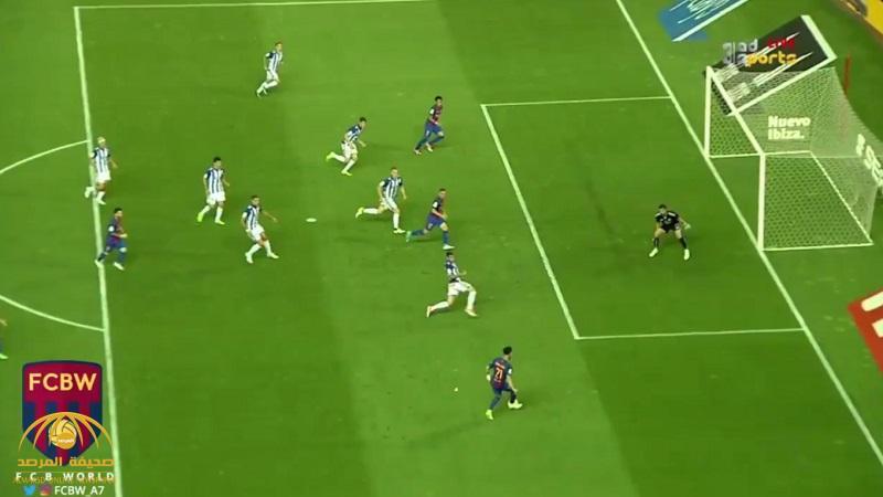 بالفيديو: برشلونة يتوج بلقب كأس ملك إسبانيا بعد فوزه على ديبورتيفو آلافيس بثلاثية