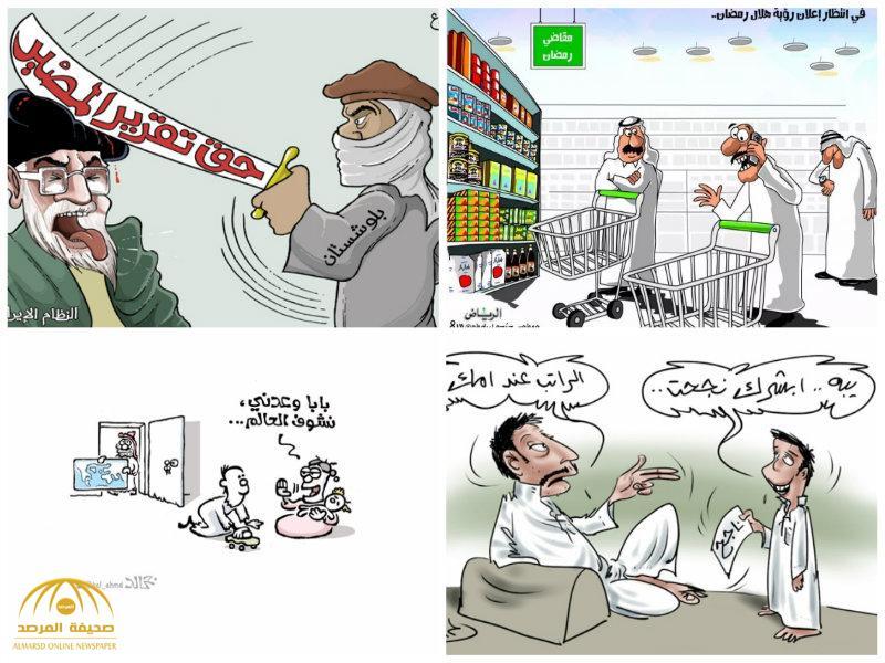 """شاهد:أفضل كاريكاتير """"الصحف"""" ليوم الأربعاء"""