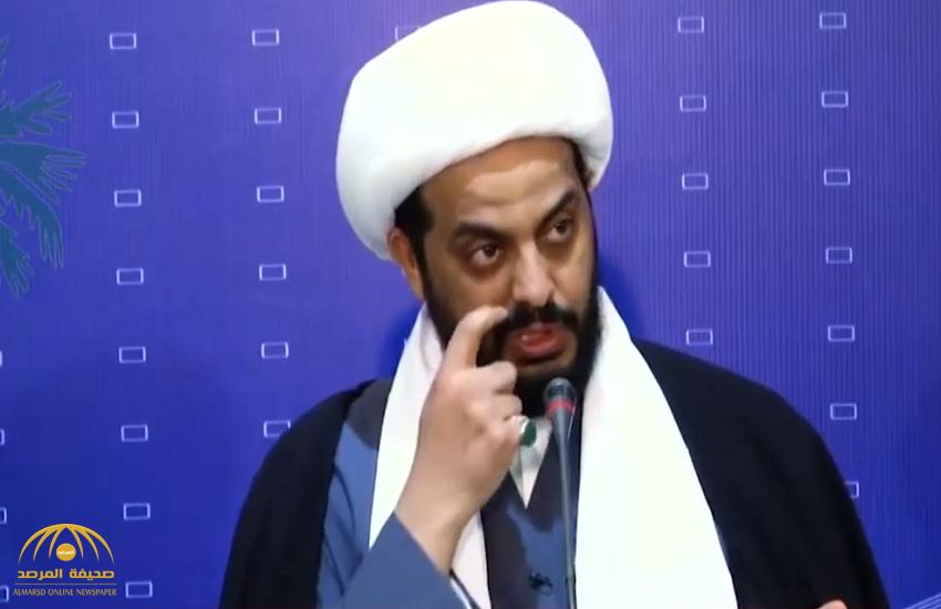 """بالفيديو: زعيم العصائب الشيعية بالعراق يكشف عن مخطط تشكيل """"البدر"""" في """"4 دول عربية"""" !"""