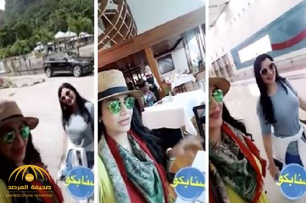في مكان وصفته الأجمل في العالم …احتفال لجين عمران بعيد ميلاد صديقتها هبوش-فيديو