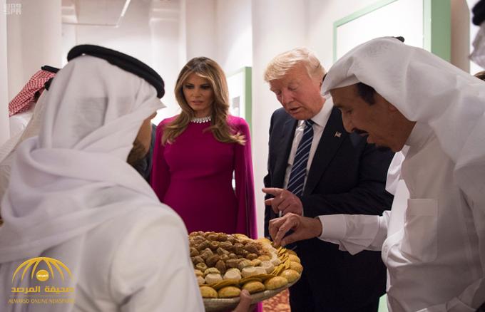 """""""الكافيار""""و""""لحم الحاشي""""منها.. تعرف على قائمة الطعام  الفاخرة التي احتفى بها خادم الحرمين بضيفه """"ترامب"""""""
