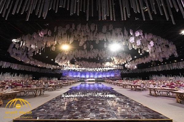 شاهد .. تسريب صور جديدة من زفاف شقيقة أحلام الأسطوري