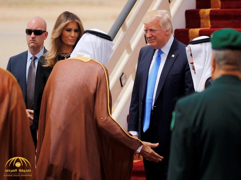خادم الحرمين مغردًا عن زيارة «ترامب» ماذا قال؟
