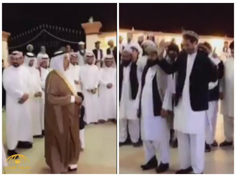 "9b9c8e2a8 قبيلة سعودية تقدم ""عانية"" لـ مقيم ""باكستاني""في زواجه..شاهد كيف رد عليها!"