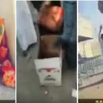 شاهد: لحظة سرقة طلاب لمحتويات مقصف مدرستهم