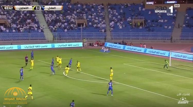 بالفيديو : الهلال يتجاوز التعاون بأربعة أهداف ليتأهل لنهائي كأس خادم الحرمين