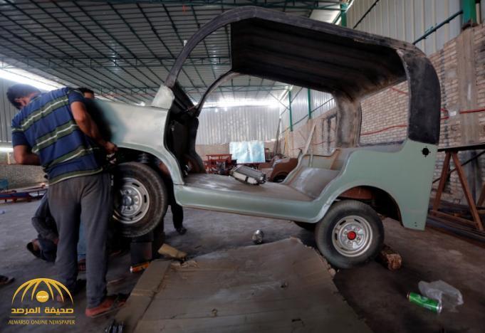 بالصور مصري ينهي أسطورة التوكتوك ويصنع سيارة صغيرة بسعر 34 ألف