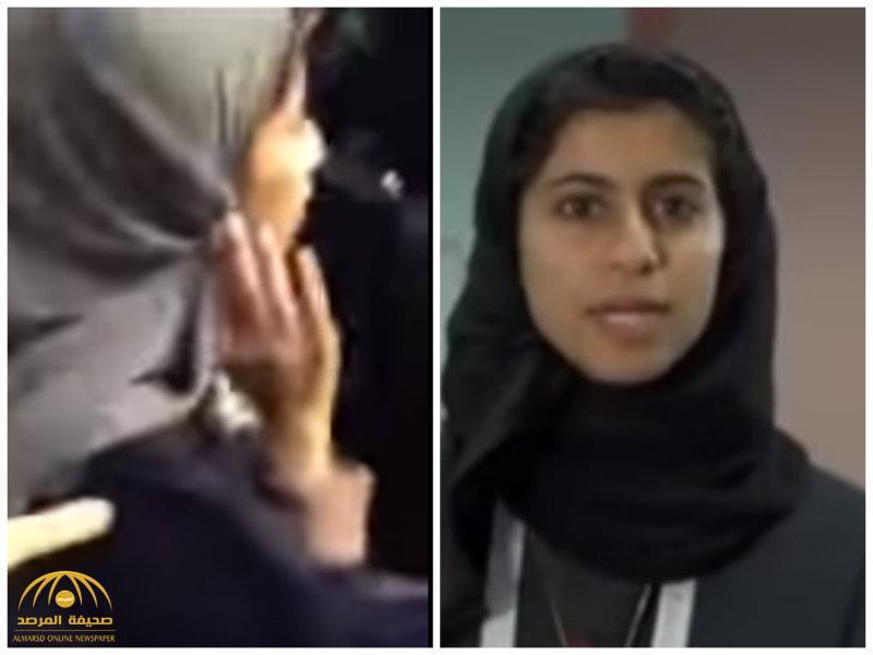"""شاهد.. ردة فعل فتاة سعودية بعد فوزها بجائزة """"ناسا"""""""