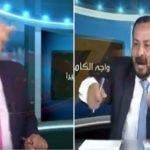 """""""شاهد"""": معركة على الهواء  بين صحفي ونقابي أردنيين.. تبادلوا الشتائم وتراشقوا الأكواب"""