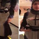 بالفيديو : طالبة سعودية تبتكر عباءة للجري