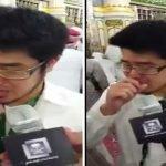 بالفيديو: شاهد بكاء مهندس ياباني اعتنق الإسلام حديثا