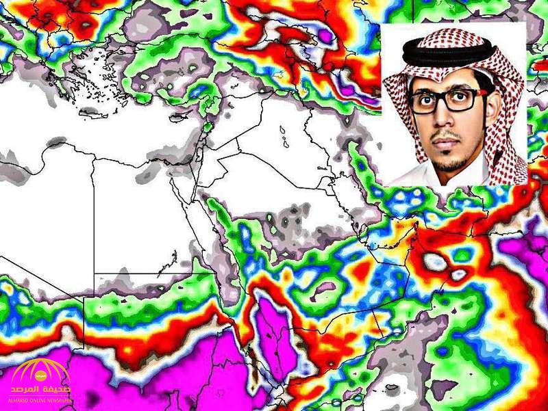 بعد دخول الموجة الباردة لمدة 48 ساعة.. الجهني يكشف توقعاته لعودة الأمطار غداً على هذه المناطق!