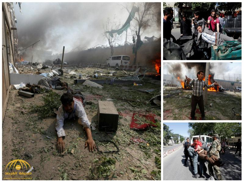 بالصور:80 قتيلاً و300 جريح بانفجار في الحي الدبلوماسي بكابول