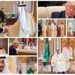 """""""شاهد"""" أكثر من 90 صورة نشرتها وكالة الأنباء السعودية خلال اليوم الثاني لزيارة ترامب التاريخية للمملكة !"""