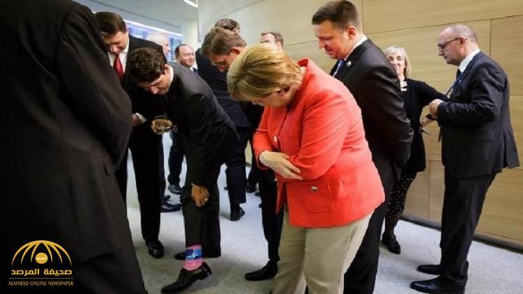 """تعرف على سر تداول هذه """"الصورة"""" خلال اللقاء غير الرسمي لقادة دول الناتو"""