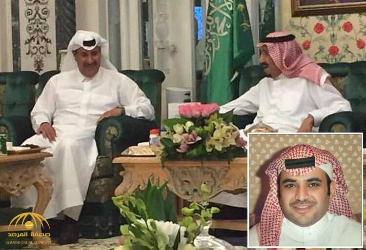 """""""سعود القحطاني"""" يكشف سر صورة جمعت بين الملك سلمان وحمد بن جاسم .. ويوضح توقيت التقاطها !"""