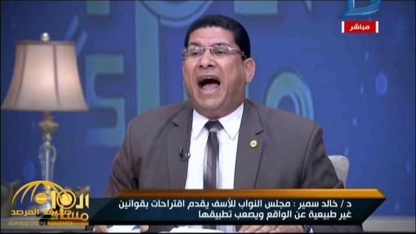 بالفيديو: مشادة وصراخ وتبادل اتهامات على الهواء بسبب قانون الأطباء الجديد في مصر !