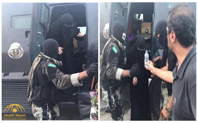 شاهد:مجموعة صور تظهر جهود رجال الأمن في حماية أهالي حي المسورة من نيران الإرهابيين