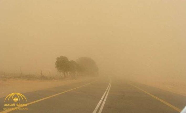 """""""الأرصاد"""" : رياح مثيرة للأتربة والغبار تحدُّ من الرؤية على 8 مدن!"""