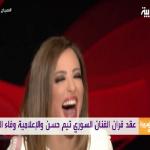 """شاهد: المزحة التي تسببت في زواج الفنان """"تيم حسن"""" بالإعلامية """"وفاء الكيلاني"""" على الهواء مباشرة!"""