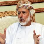 كيف علق  وزير الخارجية العماني على سؤال.. ما رأيك في الأزمة الخليجية؟