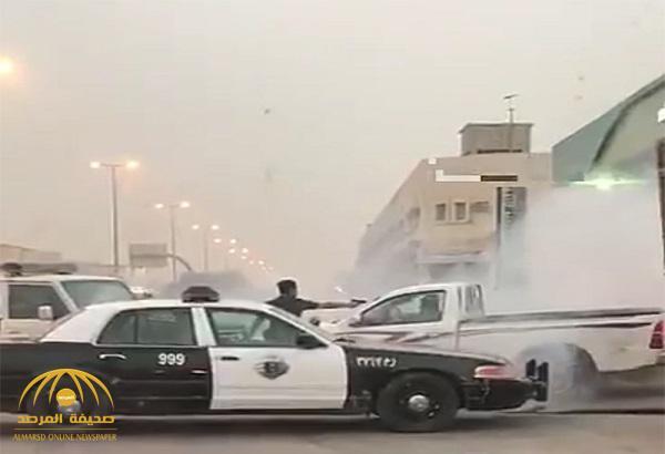 شرطة الرياض تكشف ملابسات إطلاق النار على قائد الهايلوكس وإيقافة بالقوة الجبرية – فيديو