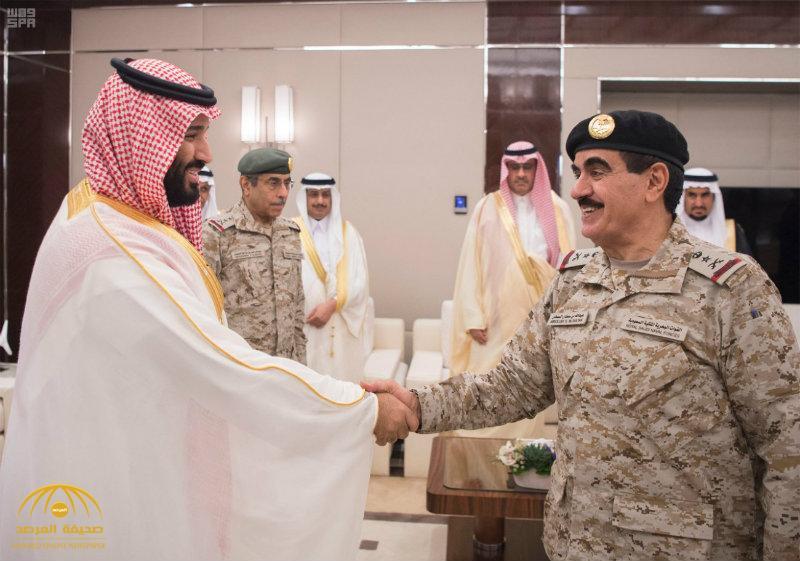 بالصور:  ولي العهد يستقبل كبار القادة والمسؤولين في وزارة الدفاع بمناسبة عيد الفطر المبارك