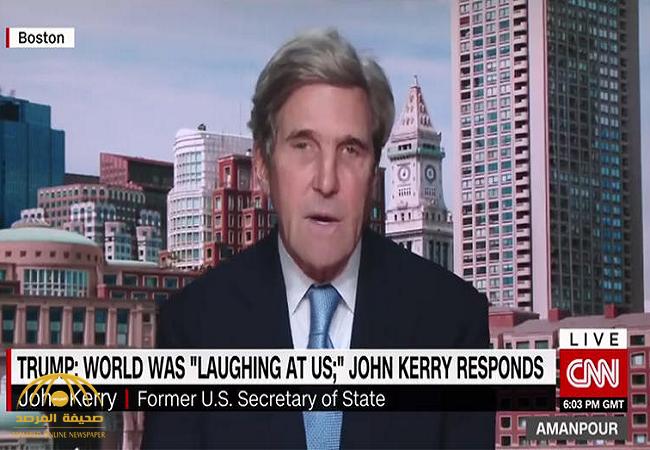 """كيف علق""""جون كيري"""" على قرار انسحاب أمريكا من اتفاقية باريس للمناخ..وبماذا وصف ترامب!"""