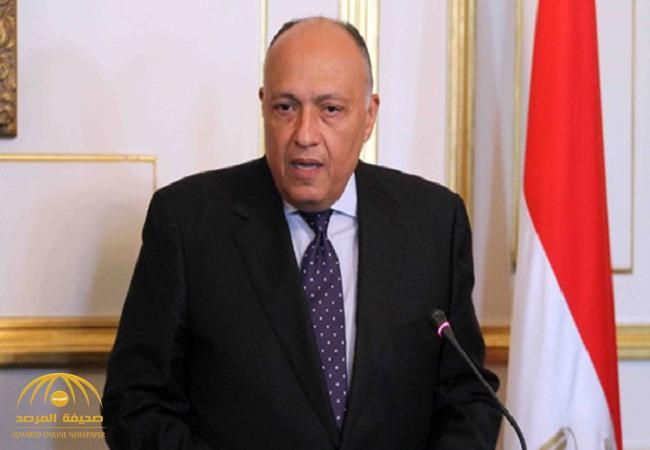 """أول تعليق لوزير خارجية مصر يحسم الجدل حول تبعية جزيرتي """"تيران وصنافير"""""""