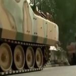 الدبابات التركية تتجول في شوارع الدوحة