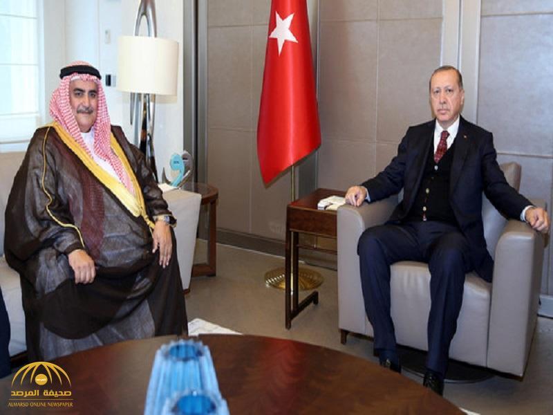 """أردوغان لـ""""وزير خارجية البحرين"""" : الخلاف مع قطر يجب أن يحل قبل نهاية رمضان!"""