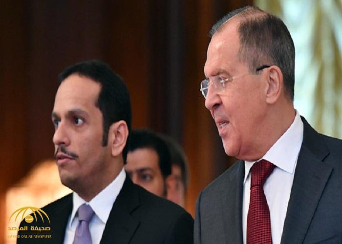 وزير خارجية قطر من موسكو: نريد علاقات إيجابية مع إيران.. ولافروف يعلق على الأزمة!