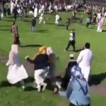 عاجل: عملية دهس لمحتفلين بعيد الفطر في مدينة نيوكاسل البريطانية