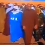 """شاهد.. أول ظهور لـ""""سيف القذافي"""" بعد الإفراج عنه في أوباري جنوب ليبيا!"""