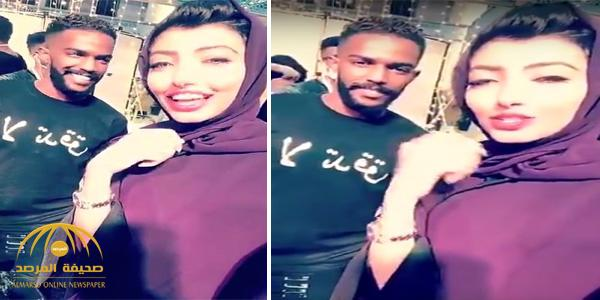 شاهد كيف رد نواف العابد على مشجعة سألته عن قبول عرضا للانتقال لنادي النصر