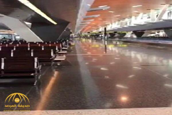 شاهد .. كويتي يصل مطار الدوحة فيتفاجأ بهذا المشهد !
