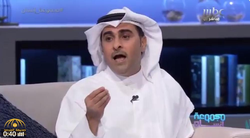 """بالفيديو: """"المريخي"""" يروي تفاصيل منعه من دخول الكويت أثناء مرض والدته.. وسر لقائه بحليمة بولند!"""