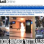 """بالفيديو والصور : الشرطة البلجيكية تقتل انتحاريا هتف """"الله أكبر"""" في بروكسل"""